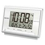【正規品】SEIKO セイコー クロック SQ698S 目覚まし時計 デジタル電波クロック