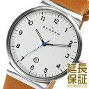 【レビュー記入確認後1年保証】スカーゲン 腕時計 SKAGEN 時計 並行輸入品 SKW6082 メンズ LEATHER レザー