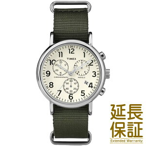 TIMEXタイメックス腕時計【正規品】TW2P71400メンズWEEKENDERCHRONOウィークエンダークロノクリーム/オリーブ