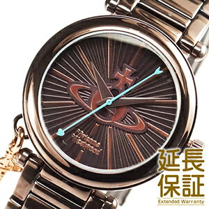 VivienneWestwoodヴィヴィアンウエストウッド腕時計VV006KBRレディースOrbオーブ