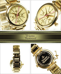 VivienneWestwoodヴィヴィアンウエストウッド腕時計VV006KGDレディースKensingtonケンジントン