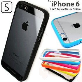 【LIM'S正規品iPhone64.7インチ専用】【iPhone5SiPhone5専用バンパークリアケース】iphone/アイフォン6/アイフォン/カバー/スマホケース/スマホ/5/ストラップ/アクセサリー/4.7/6/tpu/アイフォン5S/5S/ストラップホール/lims/クリアケース