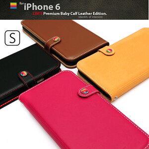 LIM'S本革手帳型ケースiPhone6S/iPhone6/iPhone6S PLUS/iPhone6 PLUSストラップホール付iPhone6...