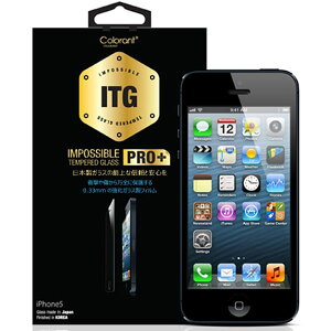 【NEWモデル 雑誌掲載 USG ITG PRO Plus - Impossible Tempered Glass for iPhone 5 iPhone5S専用 iPhone5C専用 iPhone5専用 強化ガラス 保護フィルム】iphone/iPhone5/アイフォン5/気泡ゼロ/5/指紋/気泡/iPhone5対応/アイフォン5S/iPhone5S/5S/iPhone5C/5C/アイフォン5C