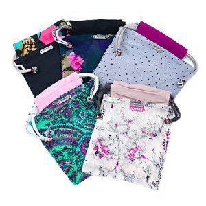 【CHANLUUチャンルージャパン公式サイト】付属の巾着イメージ※柄はお選びいただけません