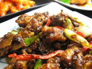 【闇市】鶏肉と青葱の味噌炒め(200g)