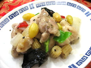 鶏肉と野菜の黒胡椒炒め(200g)