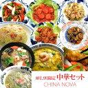 8月、9月限定中華セット【送料無料】 お惣菜 詰め合わせ 手作り おかず お取り寄せグ