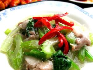 セロリと豚肉の香味中華炒め(130g)