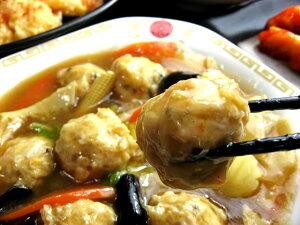【闇市】鶏つくねの旨煮あんかけ(200g)