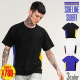 Tシャツ メンズ スウェット tシャツ カジュアル クルーネック ショートスリーブスウェット 切り替え ヴィンテージヘザー スウェット・トレーナー