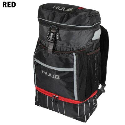 トライアスロン リュック バッグ HUUB フーブ リュックサック トランジッションバッグ2 Transition II Bag レッド アクア トライアスロン用 トランジションバッグ 32L hbac19502・・・ 画像1
