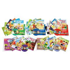 小学生1〜2年生程度のレベル!イギリスの約80%以上もの小学校で使用されている教材にCDやGuide...