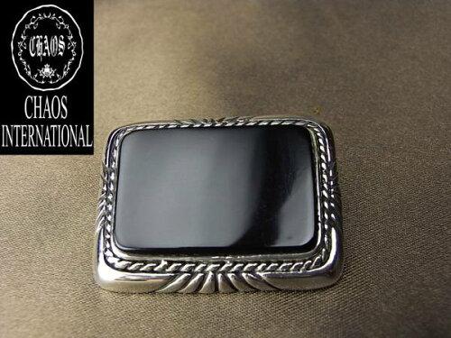 コンチョ CS-677 オニキスBIGオリジナル純銀シルバーコンチョ