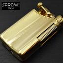 【日本製】ガスライター SAROME/サロメ PSD12 シリーズ≪PSD12-35 ゴールドサテーナ0.2μ≫