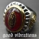 good vibrations/グッドバイブレーションズ≪Mexican RING メキシカン・リング グアダルーペ・マリア 聖母マリア イーグル・エンブレム 鷲の紋章 デザインリング #19 #21 19号 21号≫