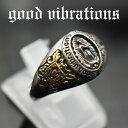 good vibrations/グッドバイブレーションズ≪メキシコ グアダルーペの聖母マリア フリーサイズ スモールリング(13〜21号)≫