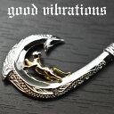 good vibrations/グッドバイブレーションズ≪ハワイアンジュエリーモチーフ フィッシュフック & キャット チャーム ペンダントトップ≫