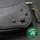 Groover Leather/グルーバーレザー GIC-100H-BLK 隠しスタッズ付き アイコスケース ブラック ブラスフック付きアイコスホルダー