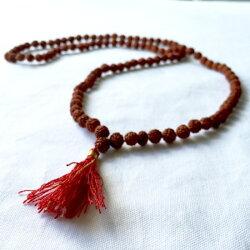 【ルドラクシャ(菩提樹の実)マーラー大】インド菩提樹シヴァ礼拝瞑想