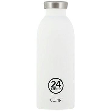 24ボトルズ クリマボトル ステンレス サーモボトル ホワイト 24BOTTLES CLIMA BOTTLE 500ml ステンレスボトル おしゃれ 持ち運び 保温 タンブラー コーヒー ボトル 魔法瓶 かっこいい 水筒