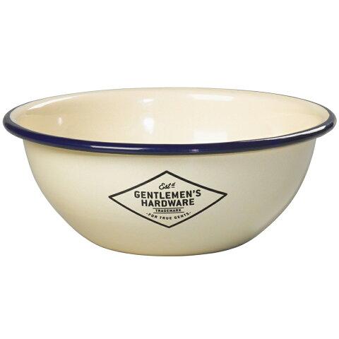 キャンプ 食器 アウトドア ジェントルメンズハードウェア エナメルタンブラーボウル Enamel Tumbler Bowl 琺瑯 ホーロー ボウル お椀 アイボリー おしゃれ かっこいい グランピング 食器セット としても