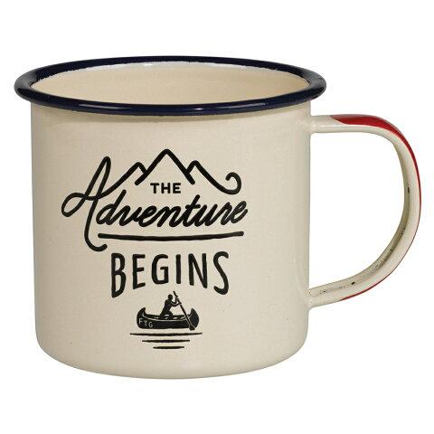 キャンプ 食器 アウトドア ジェントルメンズハードウェア エナメルマグ ホワイト Enamel Mug 琺瑯 ホーロー マグカップ 300ml おしゃれ かっこいい グランピング 食器 コップ