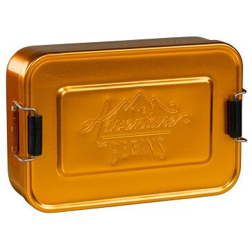 アルミ 弁当箱 ジェントルメンズハードウェア ランチティン LUNCH TIN ゴールド ランチボックス アルミニウム メンズ お弁当箱 おしゃれ かっこいい