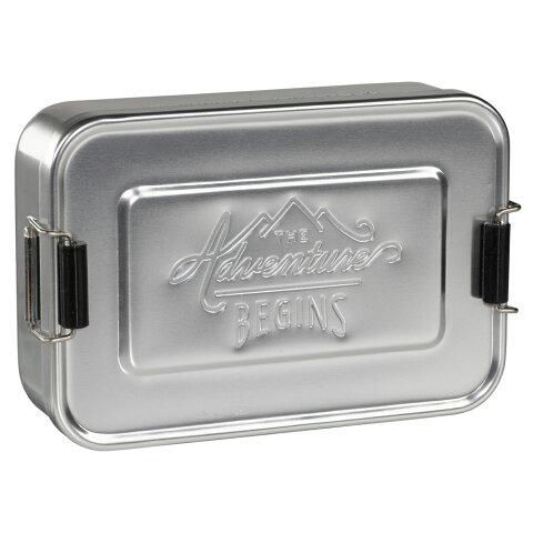 アルミ 弁当箱 ジェントルメンズハードウェア ランチティン LUNCH TIN シルバー ランチボックス アルミニウム メンズ お弁当箱 おしゃれ かっこいい