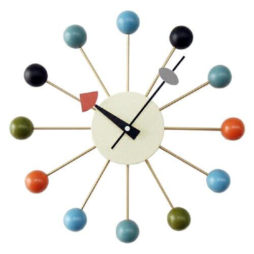 ジョージネルソン 時計 掛け時計 ボールクロック マルチカラー 正規ライセンスネルソンクロック 掛時計 壁掛け時計 おしゃれ かわいい かっこいい 正規品