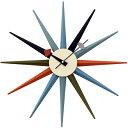 ジョージネルソン 時計 掛け時計 サンバーストクロック マルチカラー ネルソンクロック 掛時計 壁掛け時計 おしゃれ かわいい かっこいい 太陽 正規品