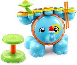 VTech Zoo Jamz Stompin Fun ドラム マルチカラー 知育玩具