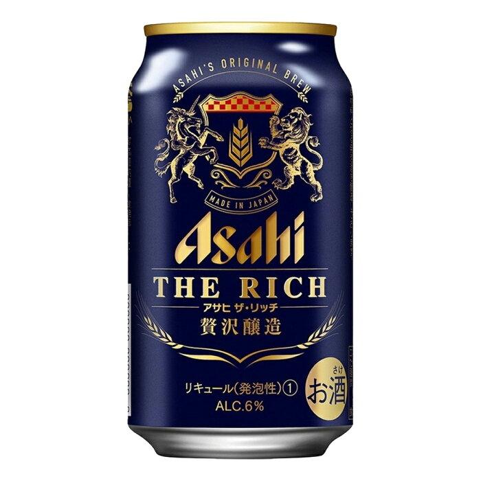 お酒 ギフト プレゼント アサヒ ザ リッチ 350ml ケース ( 24本入り ) 【 お取り寄せ商品 】