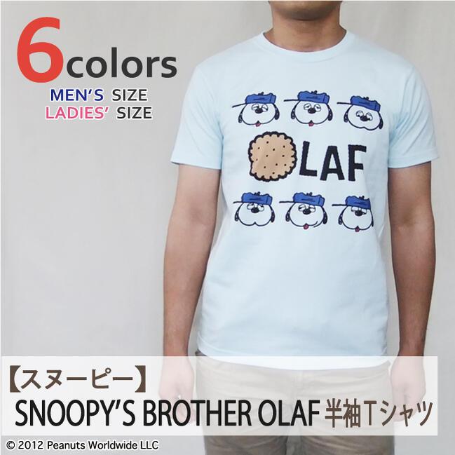 トップス, Tシャツ・カットソー  SNOOPY PEANUTS Olaf T S M L LL