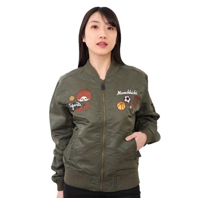レディースファッション, コート・ジャケット  monchihichi MA-1