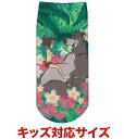 ディズニー ジャングル・ブック バルー モーグリ柄 ソックス 靴下 キッズ・レディース対応サイズ 約22~24cm