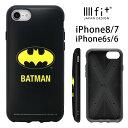 バットマン iPhone8 iPhone7 ケース IIIIfit マーク BAT MAN スマホケース カバー ジャケット ……