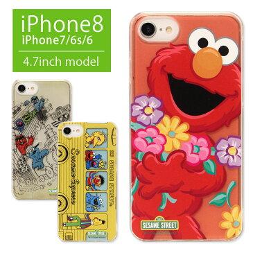 セサミストリート iPhone8 iPhone7 ハードケース エルモ iPhone6s 対応 スマホケース クリア クッキーモンスター 携帯ケース オシャレ ハードカバー iPhone 8 キャラクター アイフォン7 ジャケット ケース iPhone8 かわいい