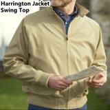 スイングトップ型 ジャケット ハリントンジャケット裏地つき【送料無料】 スィングトップ★レビューで多機能ツールプレゼント★メンズジャケット