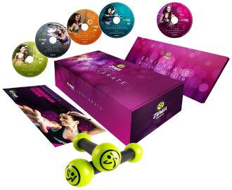 5 disc DVD Zumba (ZUMBA)