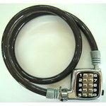 GORIN 『G-003W/b』G-003W-V ボタン式 ワイヤーロック ブラック [0280040002]