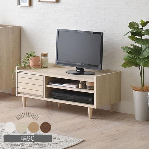 収納家具, テレビ台・ローボード  av TV 90cm TV 32 TVB018106