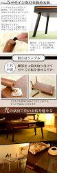 コレクションテーブル・長方形・木製テーブル・棚付きローテーブル・引き出し付きテーブル・机・幅80cm・送料無料・テーブル・ガラステーブル・ローテーブル・ディスプレイ・木製・木目・コンパクト・北欧・アジアン・和室・モダン・おしゃれ