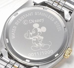 ミッキー世界限定☆天然ダイヤモンド時計