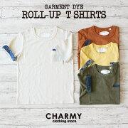 ロールアップ Tシャツ チャーミー おしゃれ