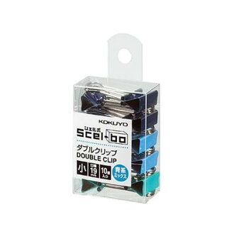 [國譽]雙環形別針(個箱子型)小、青系統栗子-J35BMX