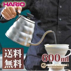 HARIO ハリオ<V60ドリップケトル・ヴォーノ600ml>VKB-100HSVコーヒードリ…