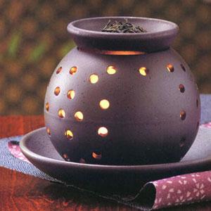 日本人が落ち着く香り和のアロマセラピー茶香炉お茶の香りがお部屋を包みます茶香炉売れてる!...