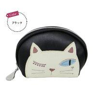 シャレ猫ジュエリーポーチ(ノアファミリー猫グッズネコ雑貨ジュエリーアクセサリーポーチ2018SS)051-J514