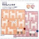 【ネコポス可】socks cat タオルハンカチ (ノアファミリー猫グッズ ネコ雑貨 ねこ柄) 051-K41 2016SS